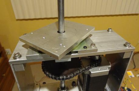W9KE Satellite Tracker - Rotor