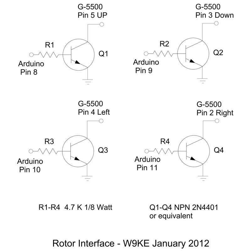 SimpleSat Rotor Controller